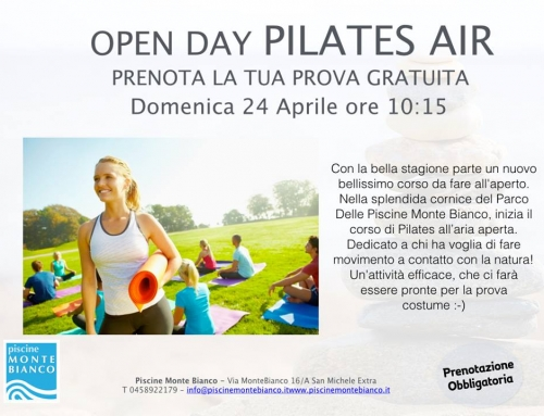 Open Day Pilates Air