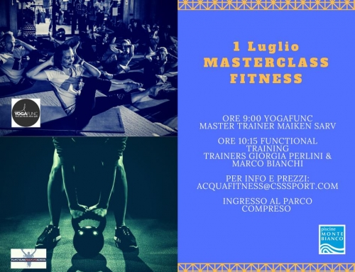 Masterclass Fitness 1 Luglio