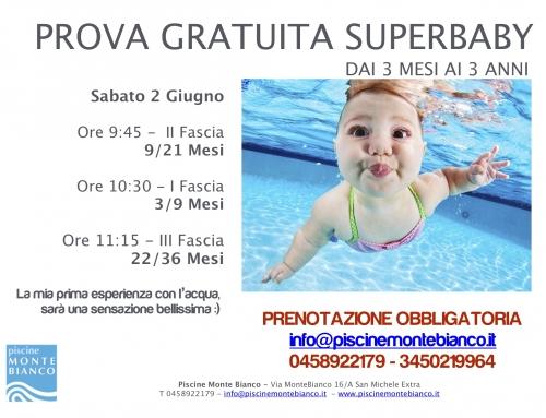 Giornata Open Superbaby