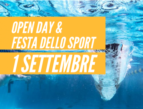 1 Settembre – Open Day