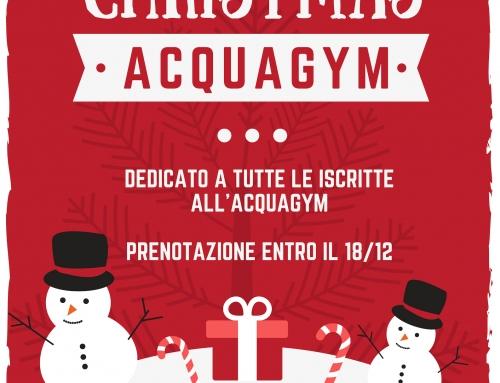 Festa Acquagym Natale 2018