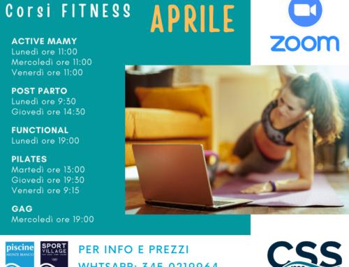 corsi Fitness APRILE