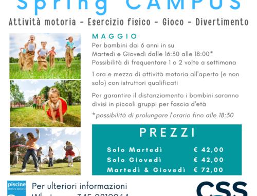Spring CAMPUS – Maggio